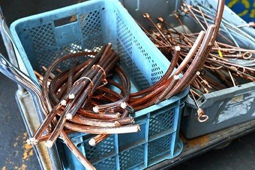 scrap metals steel
